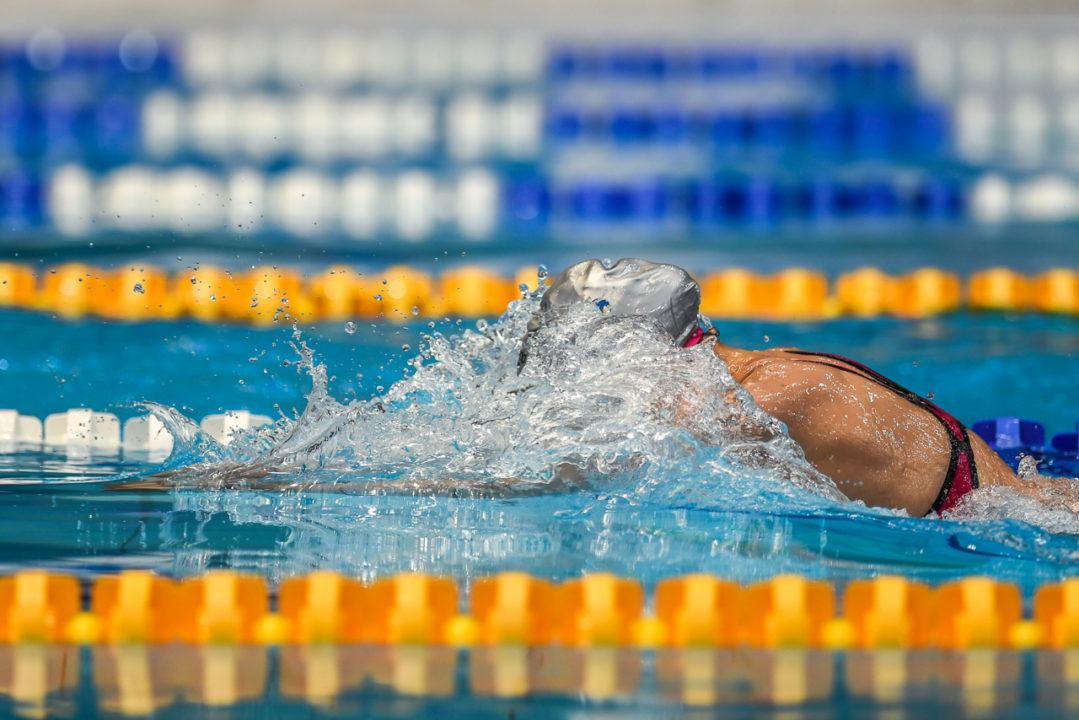 Hannah Bach Swims 3rd-Fastest US 18&U 50 BR to Close Cleveland Sectionals