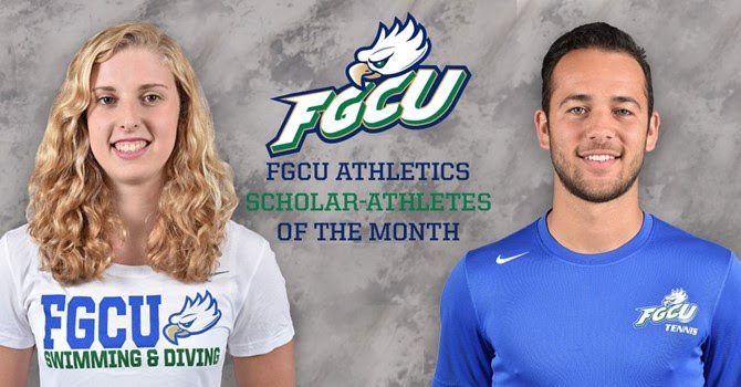 FGCU Latham, Alfonzo Earn FGCU Athletics Academic Honor