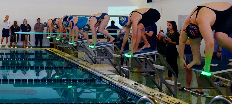 Reaction Light System Makes NCAA Debut At NEAC Championships
