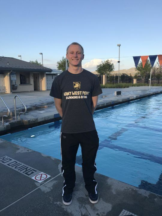 Winter juniors qualifier james bilbrey commits to army - West mesa high school swimming pool ...
