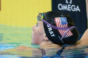 Olivia Bray was Training in AZ for Olympic Trials with Misty Hyman Pre-COVID