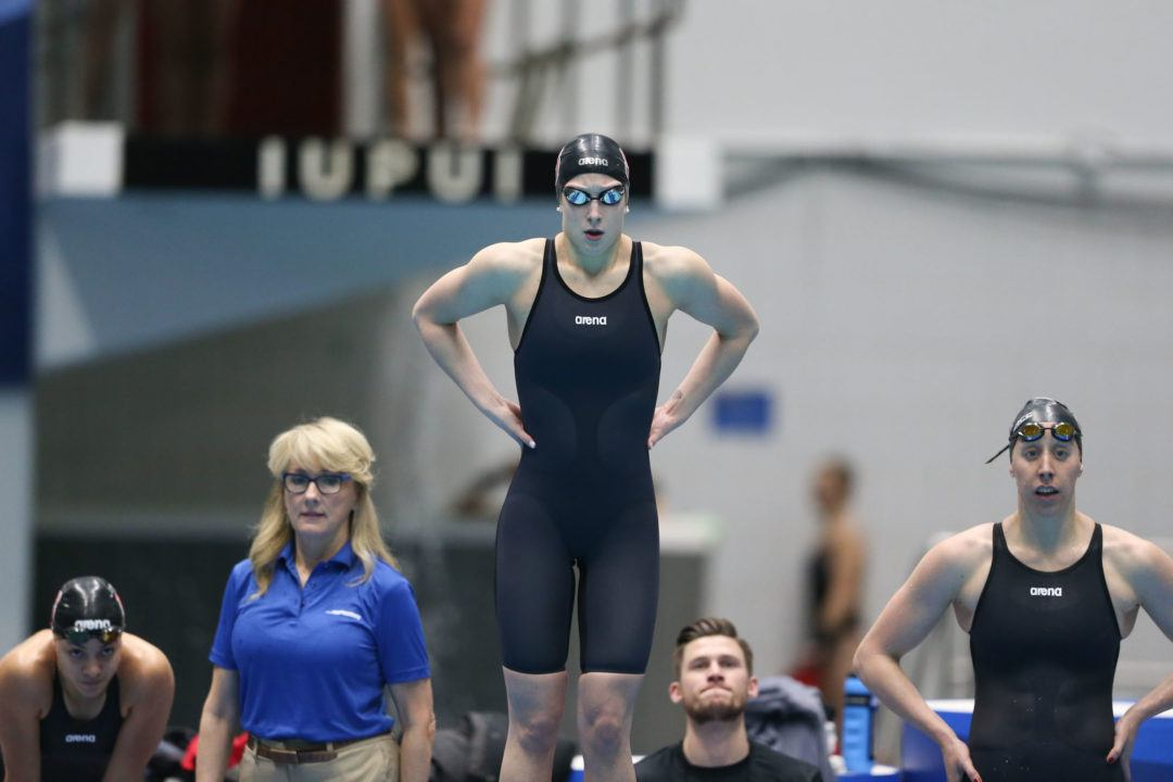 Courtney Caldwell Announces Medical Disqualification from Swimming