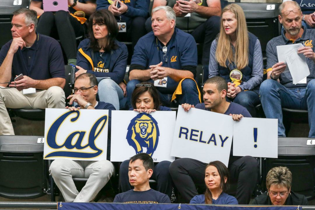 2017 W. NCAA Finals Preview: Cal, Stanford Set for 200 FR Relay Battle on Night 2