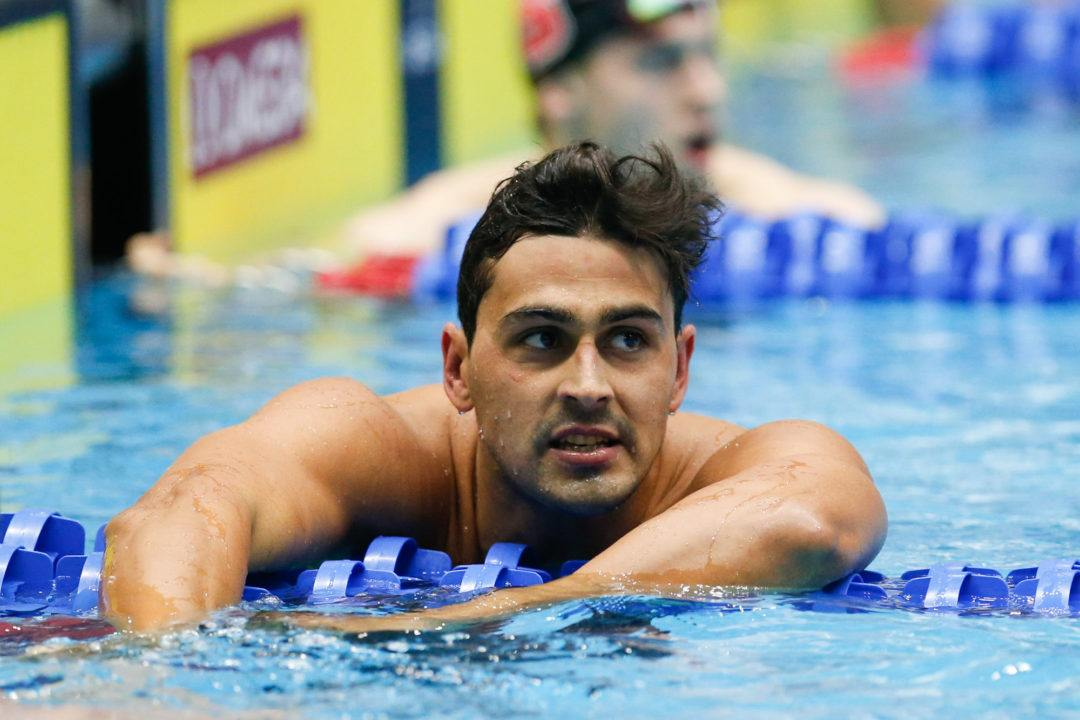 Carter Sets New Trinidad & Tobago 50 Back Record At World Cup Prelims