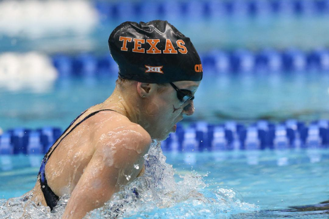 Hardcore Swimmer of the Month: Madisyn Cox, Texas
