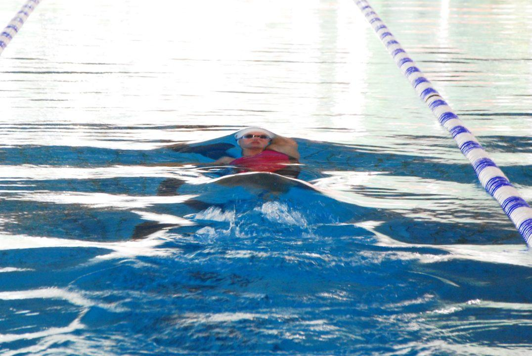 Jenny Mensing gewinnt 200 m Rücken beim ISM in guter Zeit