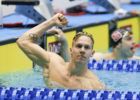WATCH: Florida's Caeleb Dressel Crushes 200 IM in a Blistering 1:40.61
