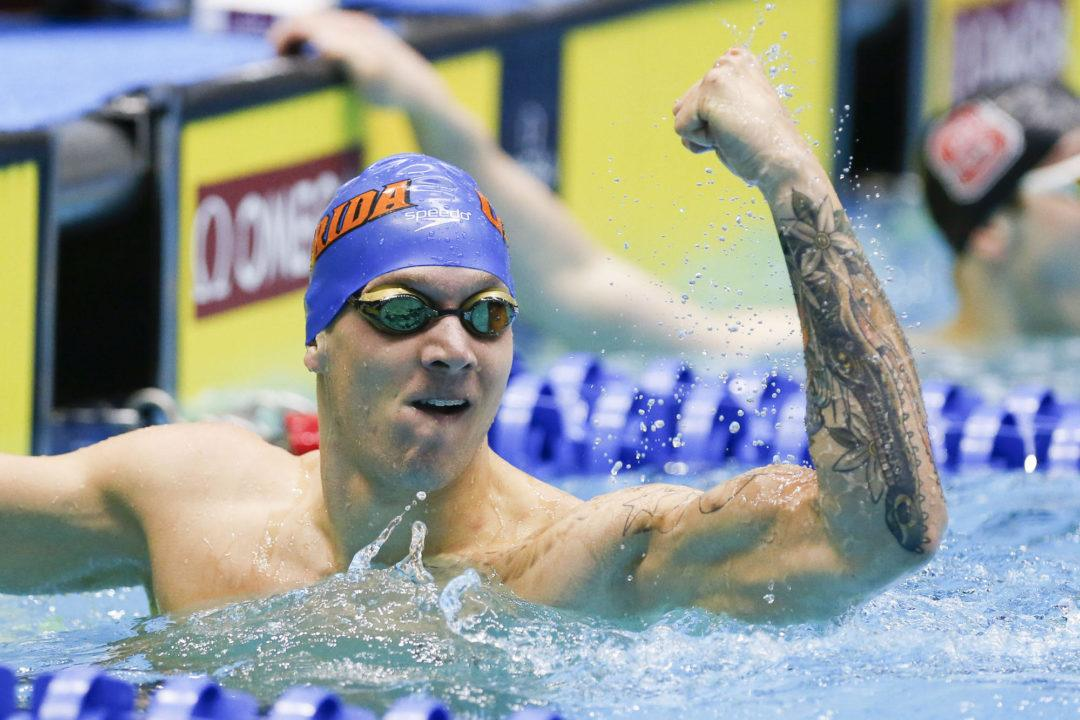 Caeleb Dressel Swims Fastest-Ever September 50 Free at All-Florida