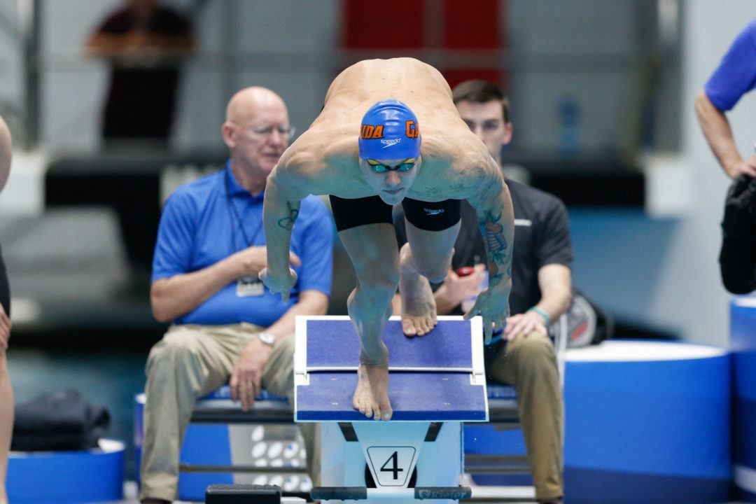 Dressel Throws Down 18.9 Anchor Split in Dual Meet vs. Auburn