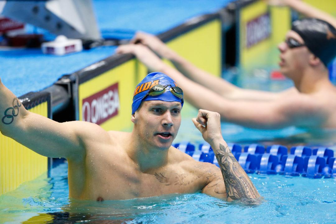 Dressel Includes 100 Fly, 200 Free in World Champs Trials Lineup