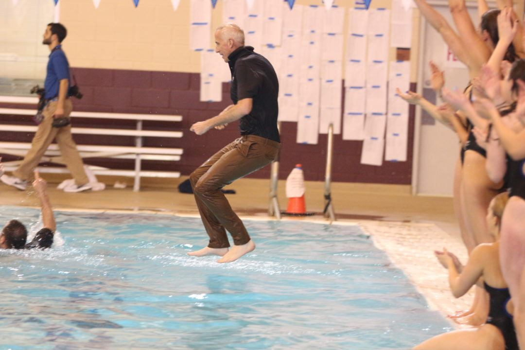 Emory's Jon Howell Wins CSCAA DIII Women's Swimming Coach of the Year