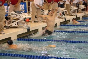 Andrew Wilson Caps College Career with D3 Record in 200 Breast