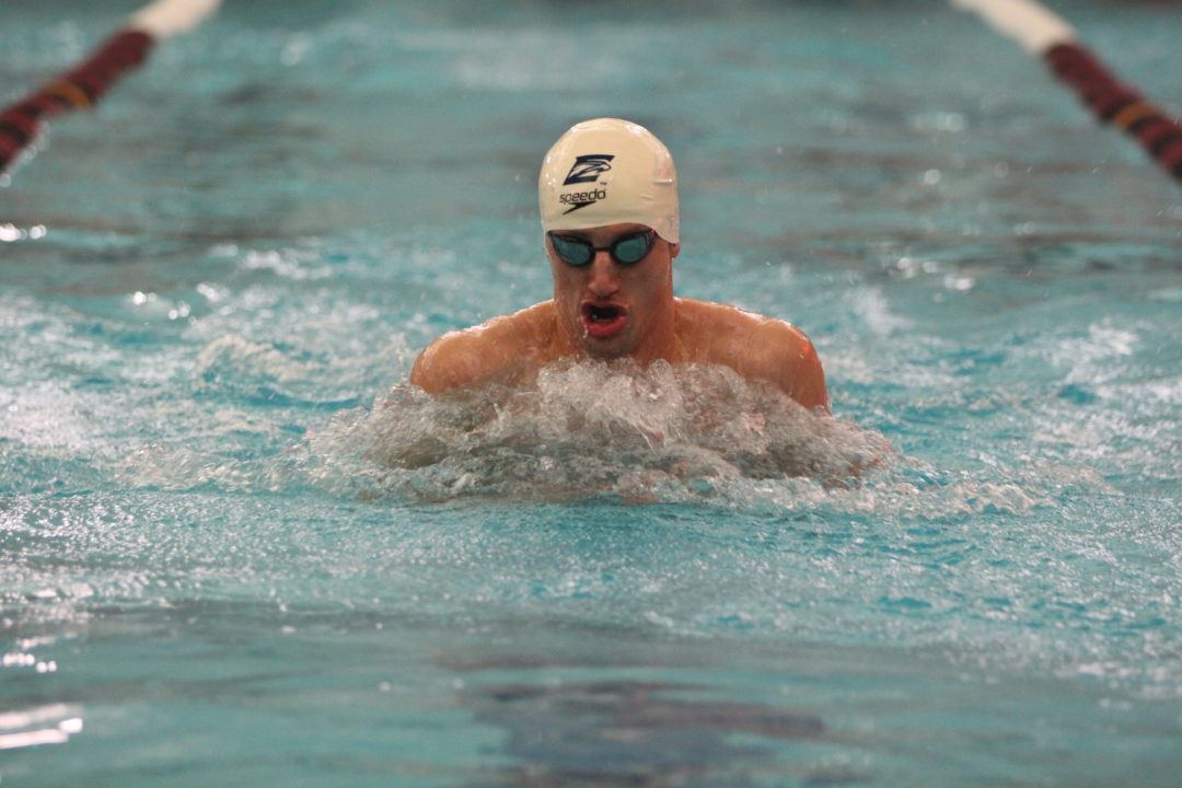 Andrew Wilson Crashes Through 51 Barrier, Sets D3 100 Breast at 50.94