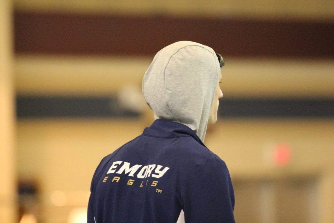 Emory's Oliver Smith Breaks D3 Record in 50 Free with 19.37 in Prelims