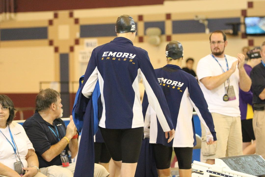 Emory Women Take Down NCAA D3 200 Medley Relay Record to End Day 1