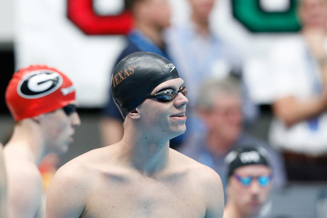 Townley Haas Swims 2nd Fastest 200 Free Ever To Defend NCAA Title