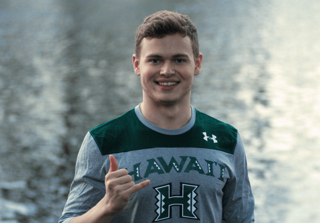 Canada's Erik Harper Commits to University of Hawai'i for 2017-18