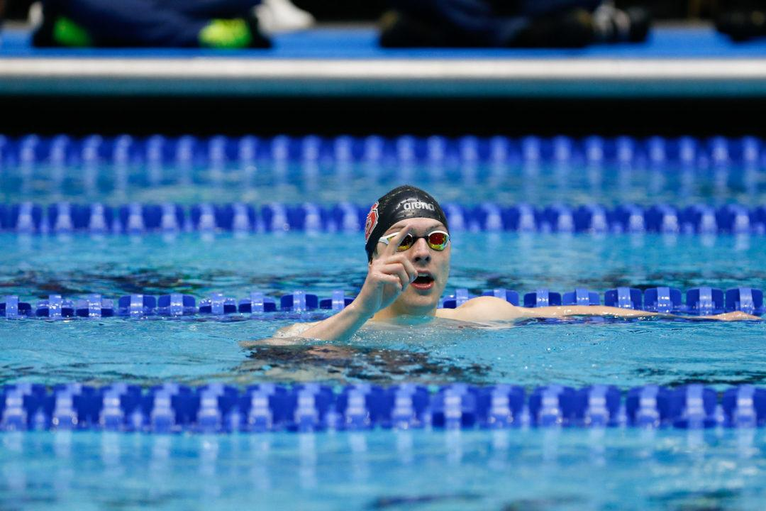 Ohio State Invite Day 2: Held Posts NCAA-Leading 100 Fly