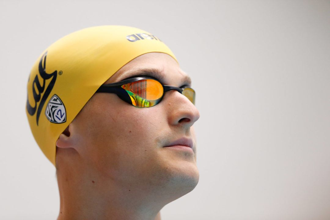 UGA Invite Day 2 Prelims, Cal's Noemie Thomas Swims 51.00 100 Fly