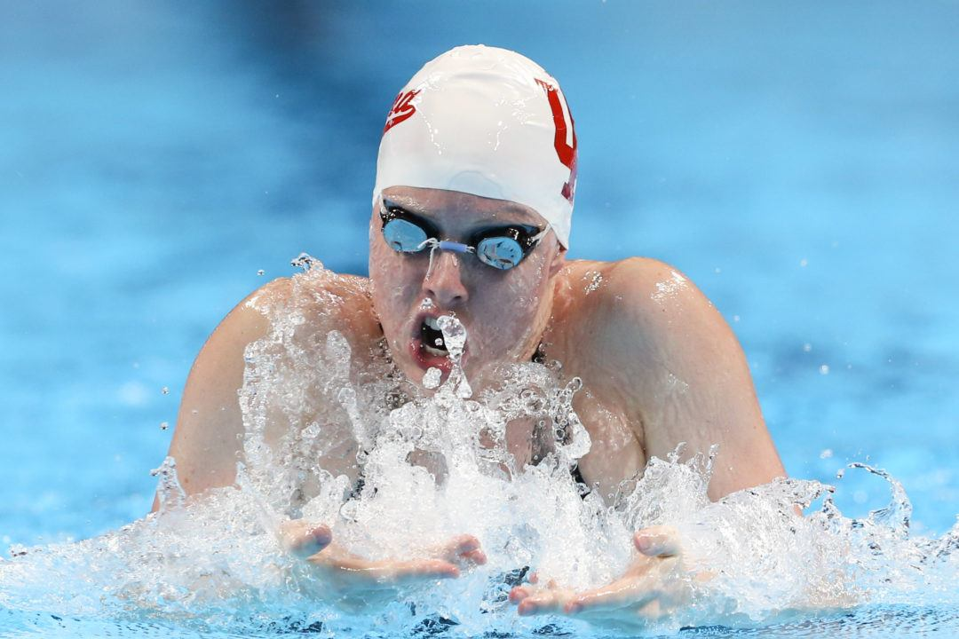 2018 W. NCAAs: Lilly King Lowers Own American Record in 100 Breast