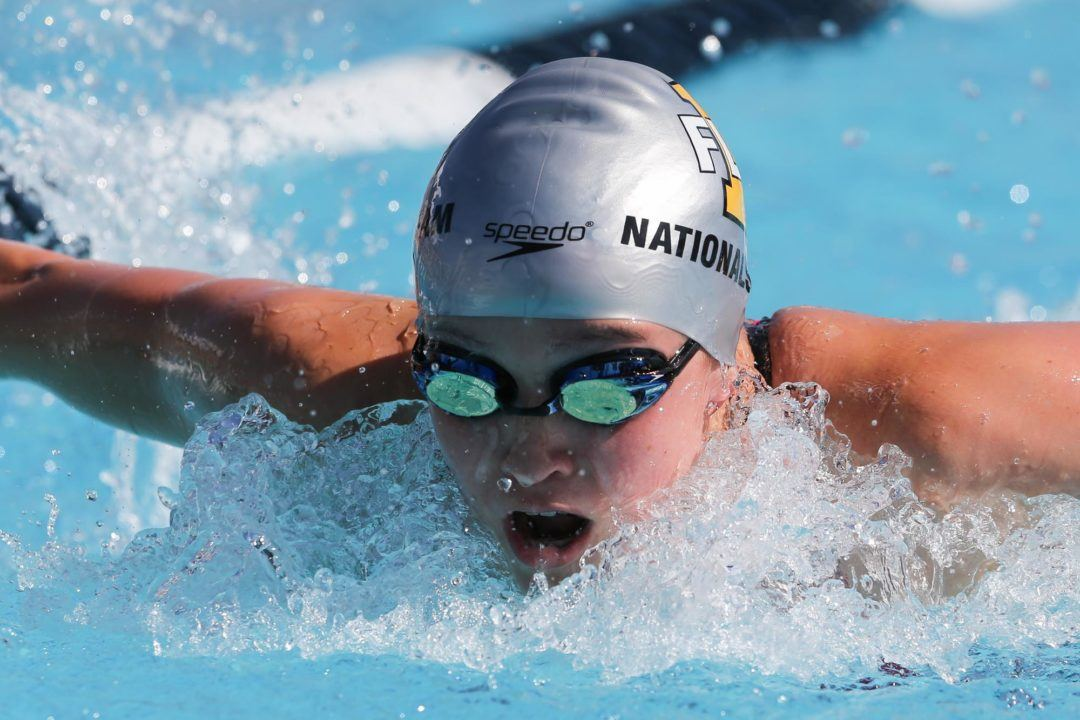 Ruby Martin Breaks Mary Descenza's Meet Record in Iowa City
