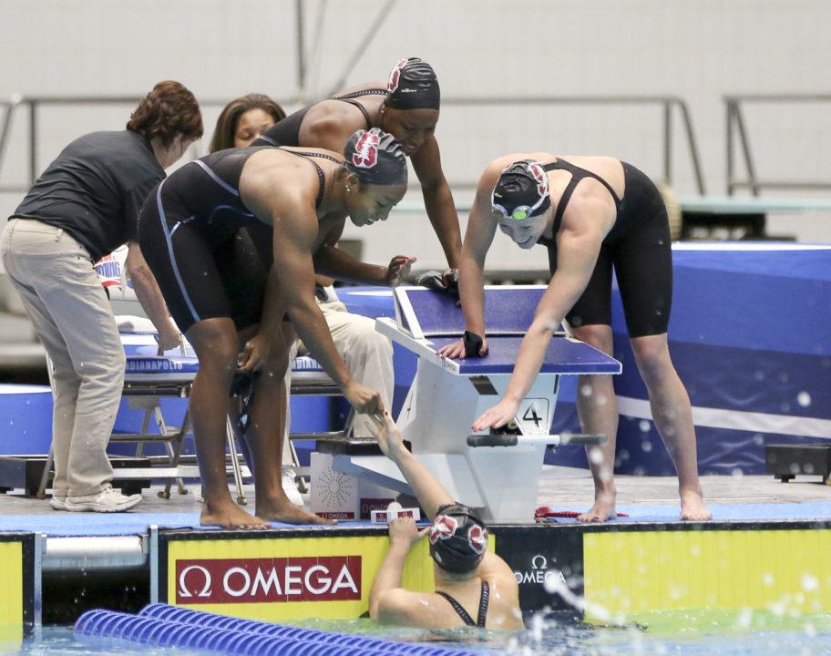 Bonus Blueseventy Swim of the Week: Stanford's 6:45.91