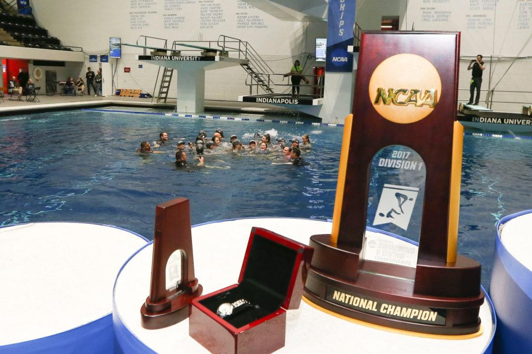 2017 W. NCAA Analysis: Stanford Returning 308 Individual NCAA Points