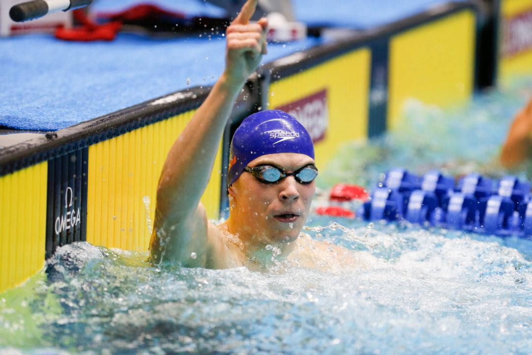 Top Seed Mark Szaranek Scratches 200 IM On Day 1 Of Winter Nats