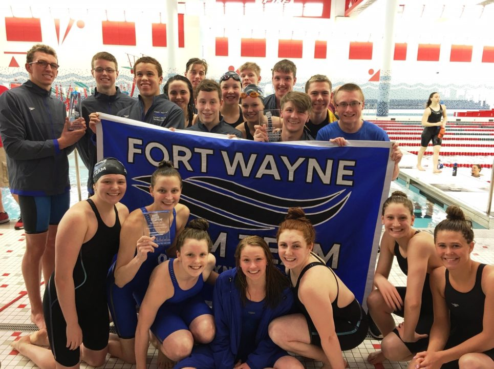 Fort Wayne Sweeps 2017 Indiana Senior Champs Titles