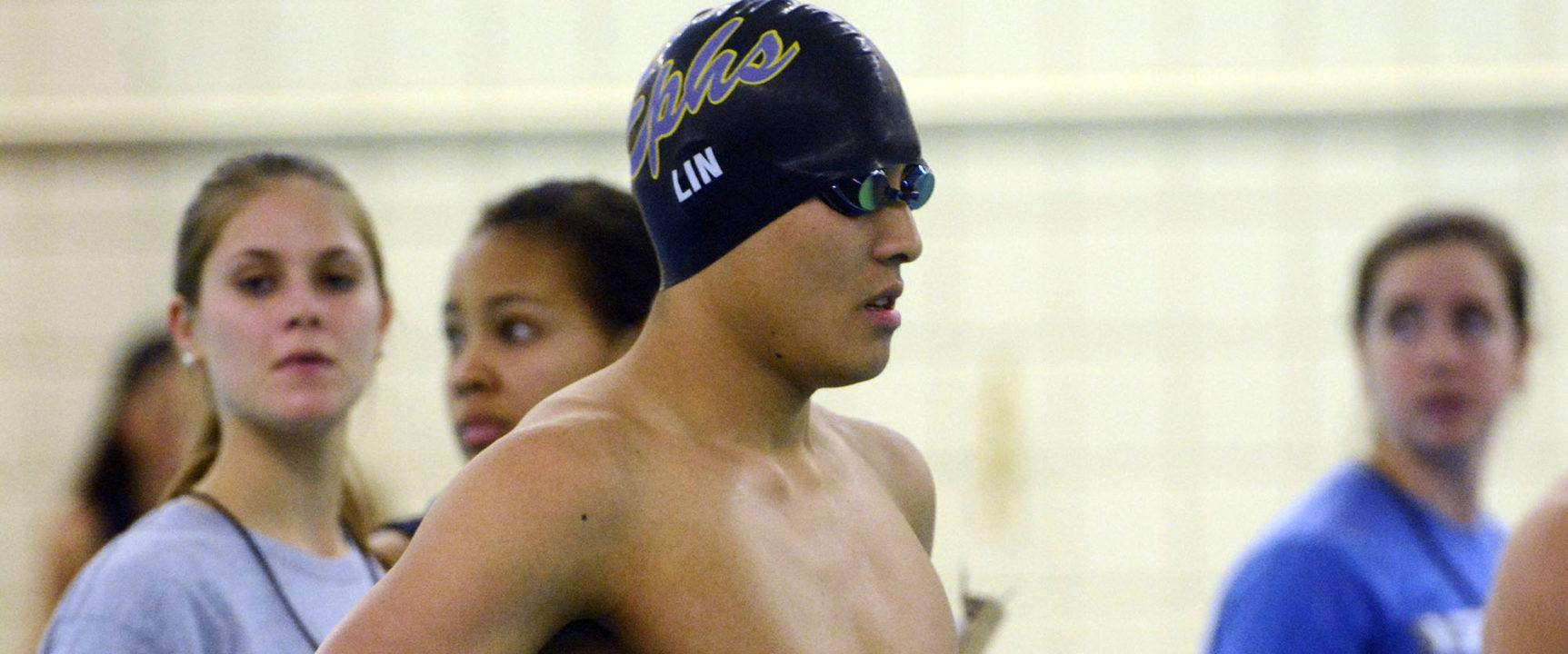 Williams' Ben Lin Scares D3 Record with 1:44.00 200 Back Nat'l Title