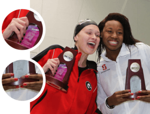 NCAA Nails: Manicures Spotted on Deck at 2017 DI Nationals