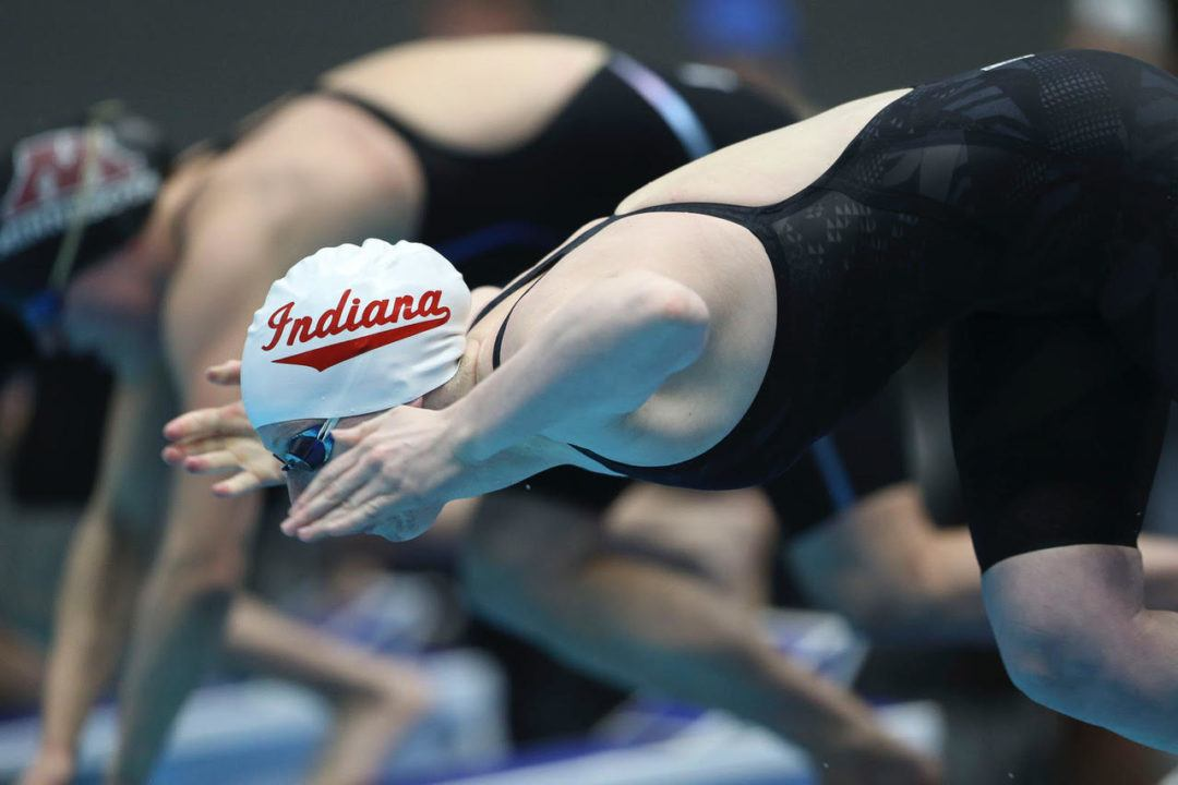 King Wins 3 Events as Indiana Men and Women Top Louisville