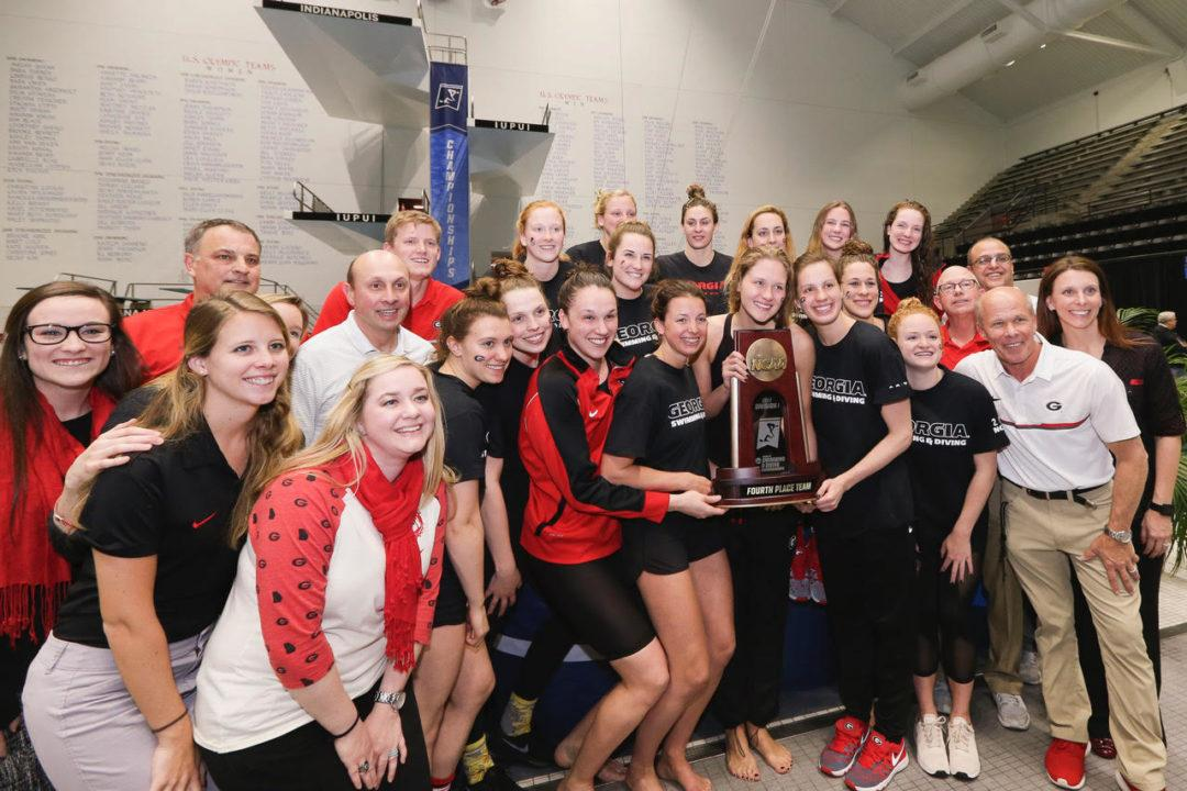 2018 NCAA Women's Swimming Championships Pre-Selection Psych Sheets