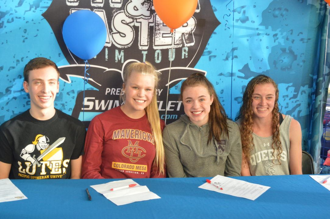 Congrats Fitter and Faster Senior National Signing Day Swimmers