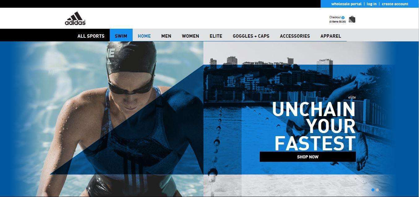 Adidas Swim Launches U.S. Ecommerce Website