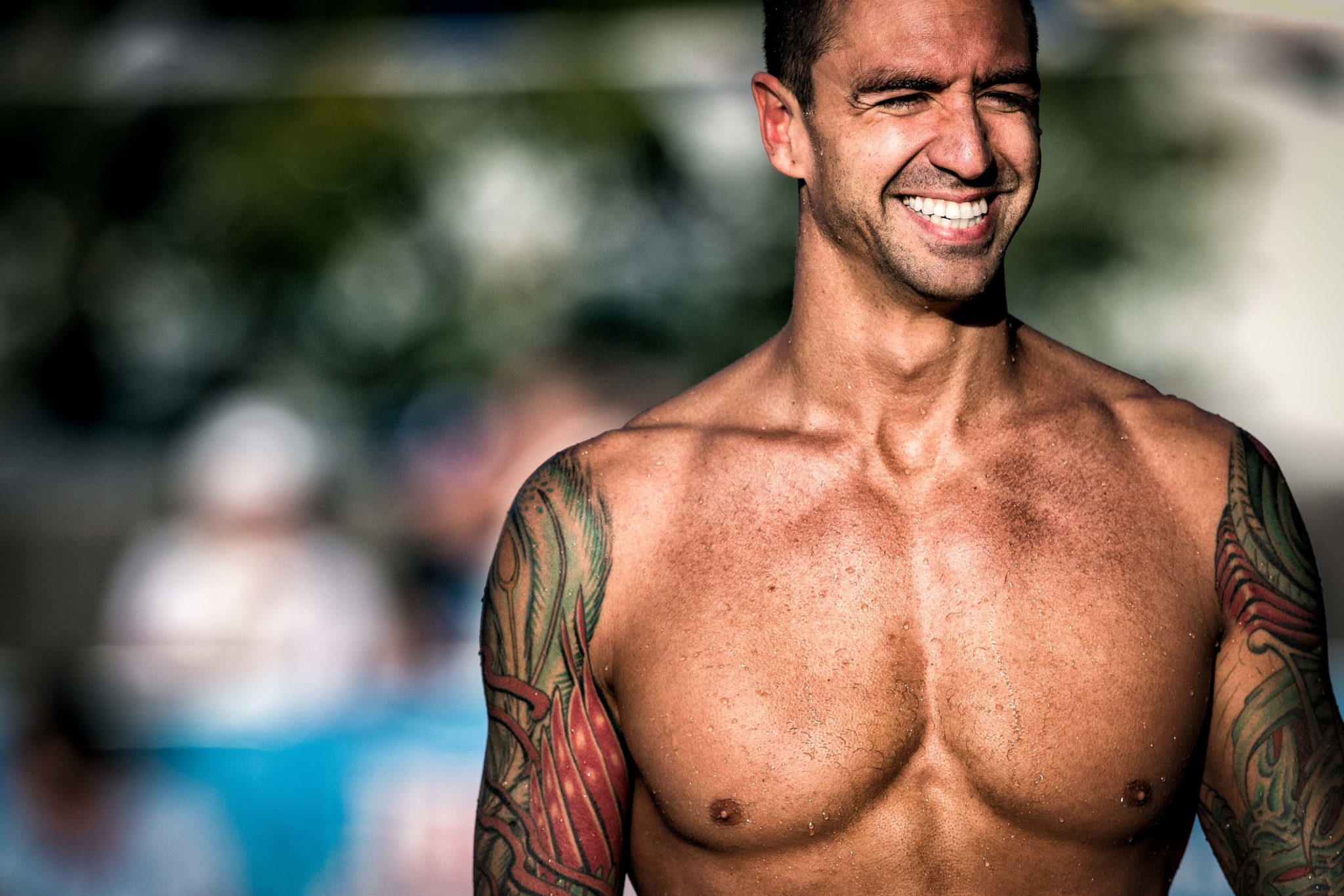 Anthony Ervin joines team USA for 20TH Maccabiah