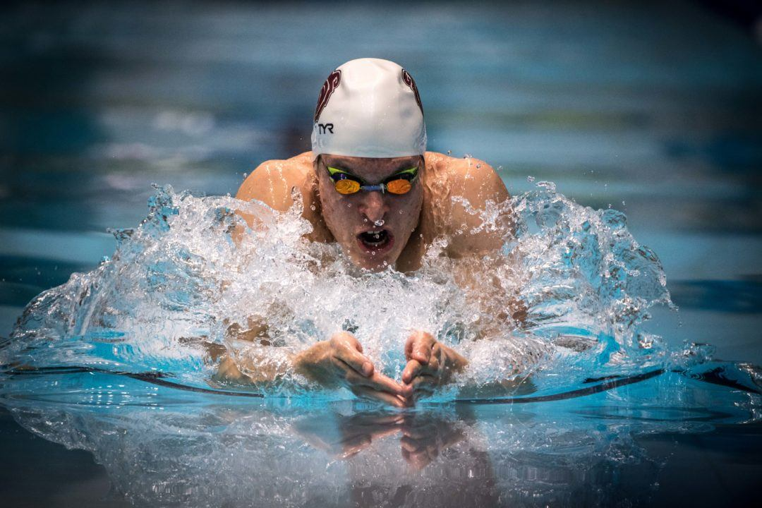 Missouri State's Artur Osvath Garners 6th MAC Swimmer Of The Week