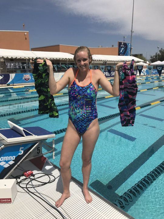 Dana Vollmer to Reveal Sex of Her Baby by the Color of Her Racing Suit