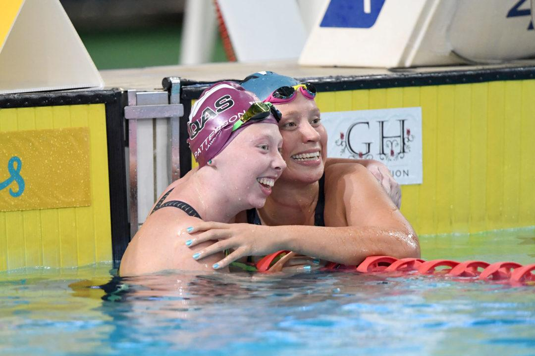 Lakeisha Patterson Opens Australia Multi-Class Championships With 400 Free Win