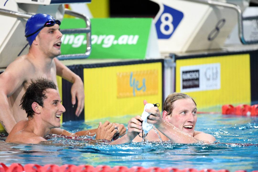 Mic'd Up Aussie Coach Craig Jackson Motivates Nation's Top Swimmers (Video)