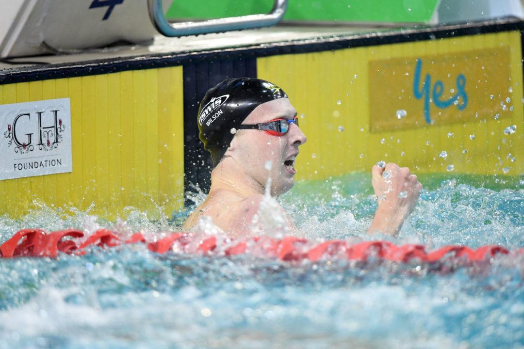 Race Video: Aussie Matt Wilson Hits 2:07.16 200 Breast