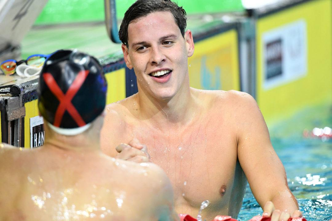 Larkin Lights Up 200 IM While Wilimovsky Bests Horton In QLD
