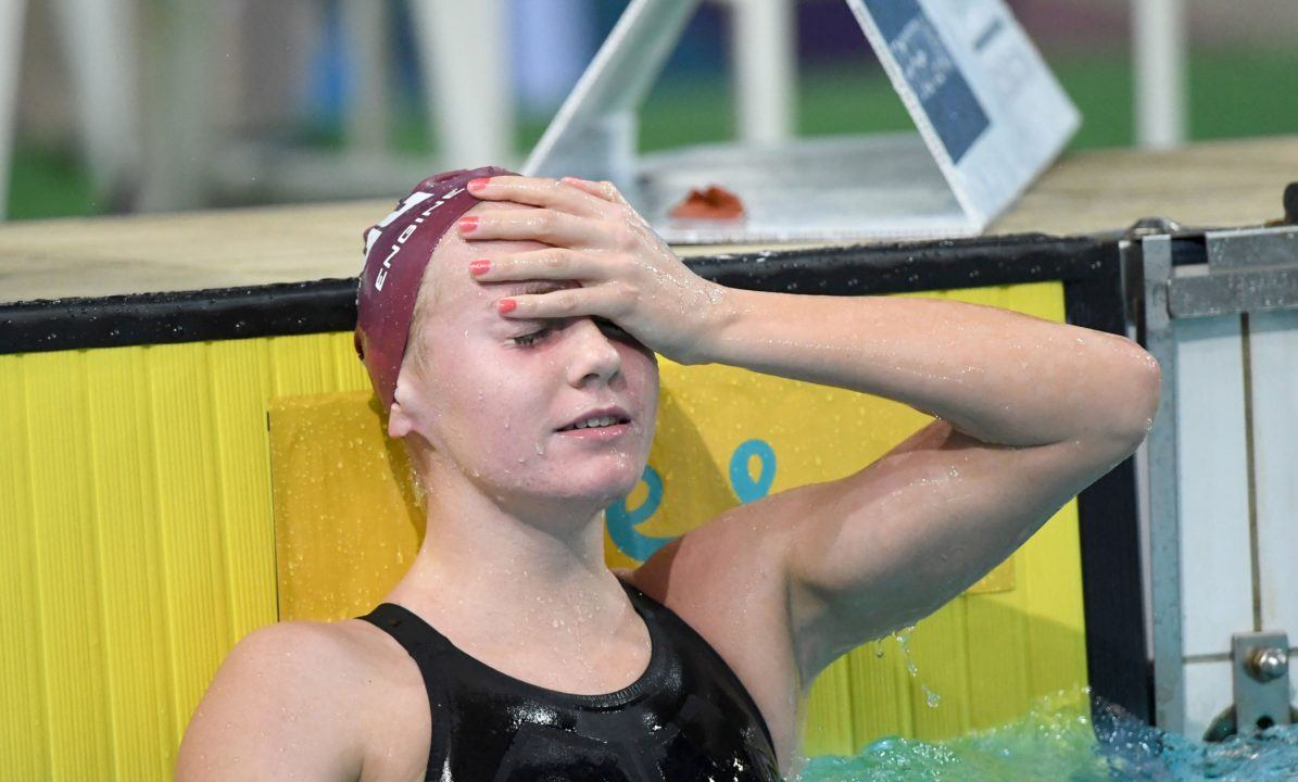 Aussie Teen Ariarne Titmus Looking Ledecky-esque With 4:02 400 Free