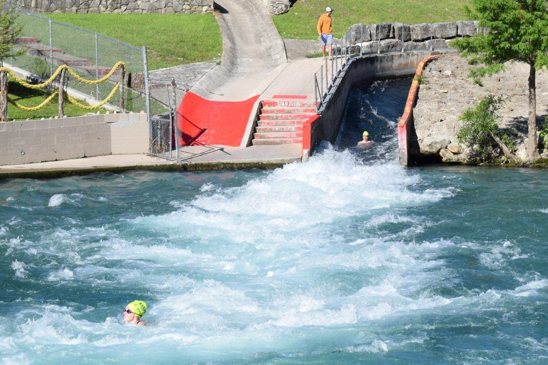 Athletes Conquer The Comal In First Triton Series Event Of The Season