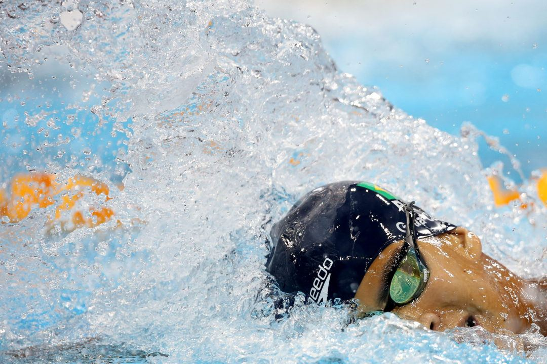 Guilherme Costa Breaks South American Record in 1500 Free by 3 Seconds