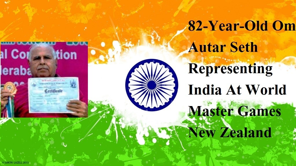 82-Year-Old Om Autar Seth Representing India At wolrd Master Games