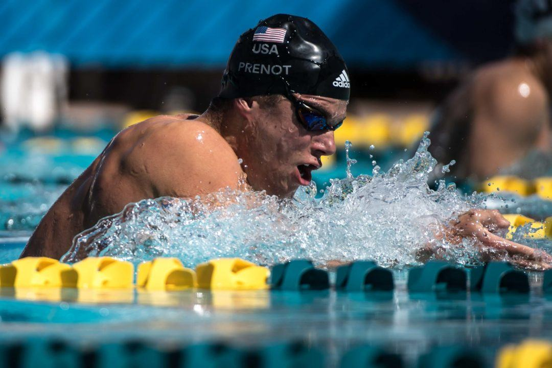 Prenot Pops 2:10.0 200 Breast At Day 2 Prelims of Atlanta Classic