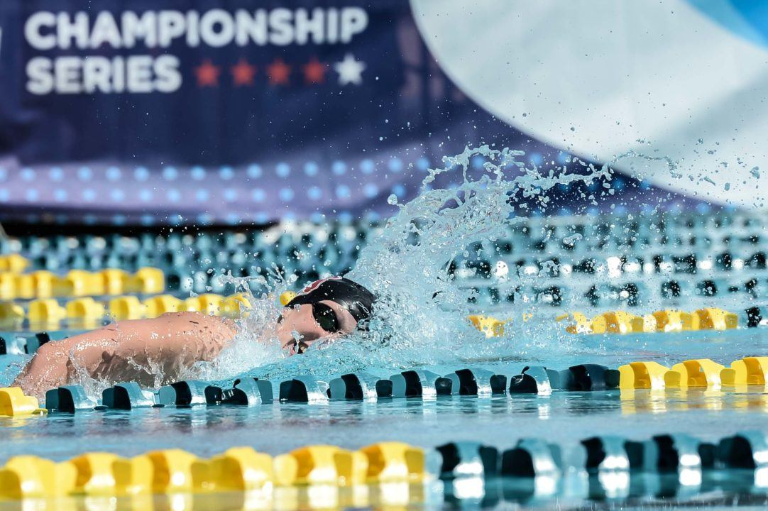 Ledecky Now Owns 6 Fastest 1500s In History After 15:35 In Santa Clara