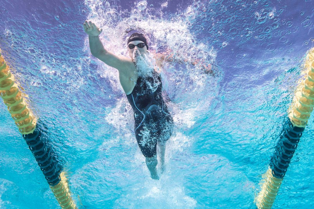 Ledecky Throws Down World-Leading 1:55.3 200 Free for Meet Record at Santa Clara PSS