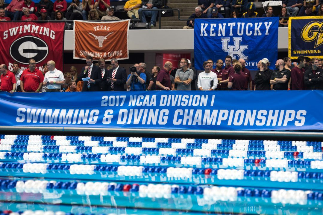 NCAA Swimulator Midseason Rankings